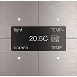 """Сенсорная панель Room-E """"Aluminium Grey"""""""