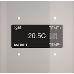 """Сенсорная панель Room-E """"Glass Grey"""""""