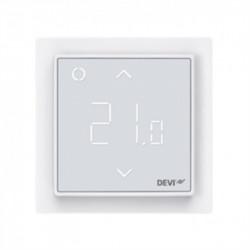 Терморегулятор DEVIreg™ Smart терморегулятор интеллектуальный с Wi-Fi, полярно-белый, 16А