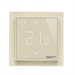 Терморегулятор DEVIreg™ Smart терморегулятор интеллектуальный с Wi-Fi, бежевый, 16А