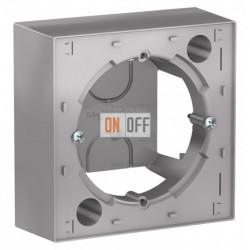 Коробка накладного монтажа Schneider Electric Atlasdesign, алюминий