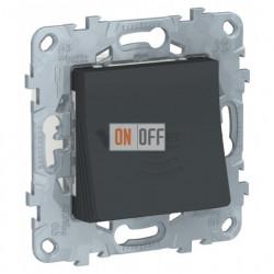 Звонок электронный программируемый 70 дБ 5 мелодий Schneider Unica New, антрацит