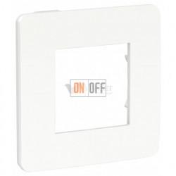 Рамка одинарная Schneider Electric Unica Studio Color, белый