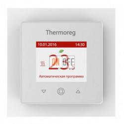 Терморегулятор сенсорный программируемый Thermo Thermoreg TI 970, белый