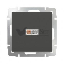 Розетка HDMI Werkel, серо-коричневый