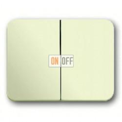 Выключатель двухклавишный, проходной (вкл/выкл с 2-х мест) 10 А / 250 В~ 1011-0-0928 - 1751-0-2565