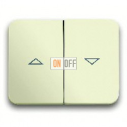Выключатель управления жалюзи, 10 А / 250 В~, с фиксацией 1012-0-2197 - 1751-0-2581