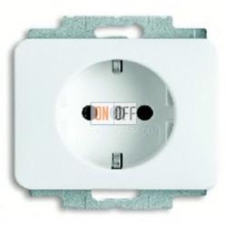 Розетка с заземляющими контактами 16 А / 250 В~ с защитой от детей и пиктограммой 2013-0-5377