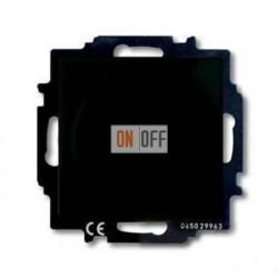 Светорегулятор Busch-Dimmer 60-400 Вт проходной ABB Basic 55, шато-черный 6515-0-0846