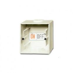 Коробка одинарная для открытого монтажа, ABB Basic 55, слоновая кость 1799-0-0971