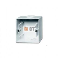 Коробка одинарная для открытого монтажа, ABB Basic 55, альпийский белый 1799-0-0974