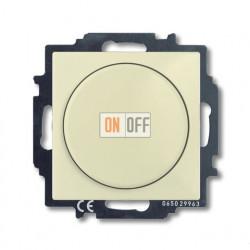 Светорегулятор Busch-Dimmer 60-400 Вт проходной ABB Basic 55, слоновая кость 6515-0-0843