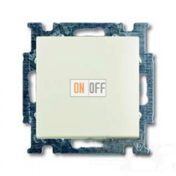 Выключатель одноклавишный ABB Basic 55, шале-белый 1012-0-2184