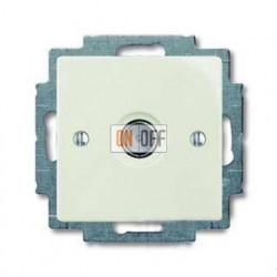 Розетка ТВ ABB Basic 55, шале-белый 1724-0-4317