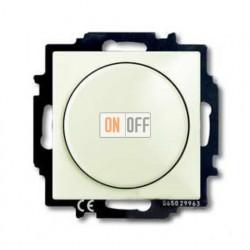 Светорегулятор Busch-Dimmer 60-400 Вт проходной ABB Basic 55, шале-белый 6515-0-0847