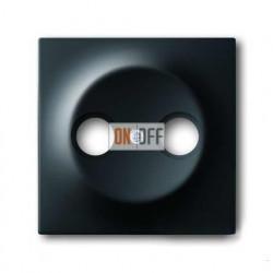Розетка TV FM проходная, ABB Impuls черный бархат 0230-0-0268 - 1753-0-0140