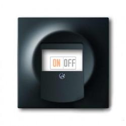 Аудио розетка двойная, ABB Impuls черный бархат 0230-0-0464 - 1753-0-0148