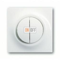 Выключатель двухклавишный с подсветкой, проходной ( вкл/выкл с 2-х мест),10 А / 250 В~ 1753-0-4856 - 1012-0-1671