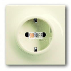Розетка с заземляющими контактами 16 А / 250 В~ с защитой от детей и пиктограммой 2013-0-5274