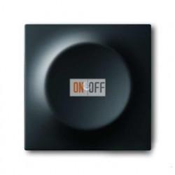 Заглушка с опорной пластиной,  ABB Impuls черный бархат 1753-0-0138