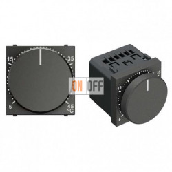 Терморегулятор для теплого пола Zenit (антрацит) N2240.3 AN