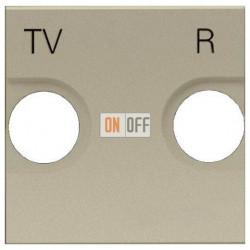 Розетка TV-R оконечная ZENIT (шампань) 8150.8 - N2250.8 CV