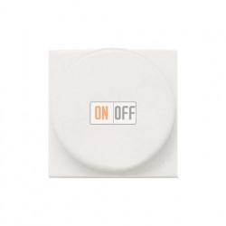 Светорегулятор с поворотной кнопкой 60-500Вт ZENIT (Белый) N2260.2 BL