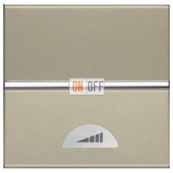 Светорегулятор клавишный 60-500Вт ZENIT (шампань) N2260.1 CV
