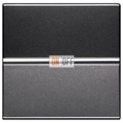 Выключатель одноклавишный 16А ABB ZENIT (антрацит) N2201 AN