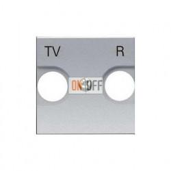 Розетка TV-R оконечная ZENIT (серебристый) 8150.8 - N2250.8 PL