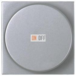 Светорегулятор с поворотной кнопкой 60-500Вт ZENIT (серебристый) N2260.2 PL