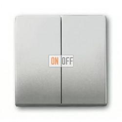 Выключатель двухклавишный, проходной (вкл/выкл с 2-х мест) 10 А / 250 В~ 1011-0-0928 - 1751-0-3087