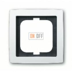 Рамка одинарная ABB Solo белый глянцевый 1754-0-4536