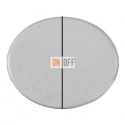 Выключатель двухклавишный 10А Tacto (Белый) 8111 - 5511 BL