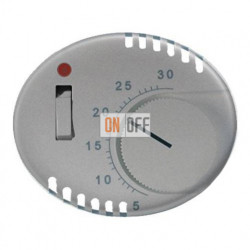 Регулятор теплого пола  TACTO серебро 8140.1 - 5540.1 PL