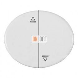 Кнопка для управления жалюзи с блокировкой одновременного включения 10А TACTO (Белый) 8144 - 5544 BL