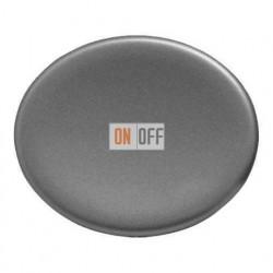 Переключатель одноклавишный 10А Tacto (Серебряный) 8102 - 5501 PL
