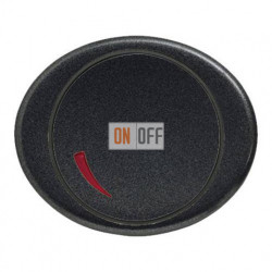 Cветорегулятор поворотный 60 - 400 Вт TACTO антрацит 6517-0-0018 - 5560 AN