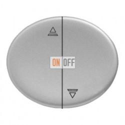 Кнопка для управления жалюзи с блокировкой одновременного включения 10А TACTO (Серебряный) 8144 - 5544 PL