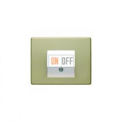 Розетка USB двойная, для зарядка, 1,4 А, вставка белая 260009 - 10340002
