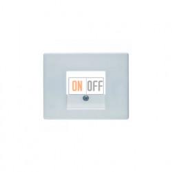Розетка USB двойная, для зарядка, 1,4 А, вставка белая 260009 - 10350169
