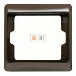 Рамка одинарная Berker Arsys, коричневый глянцевый 13130001