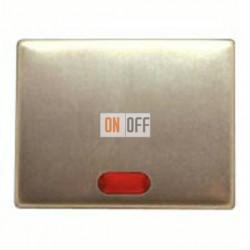 Выключатель одноклавишный с подсветкой, универс. (вкл/выкл с 2-х мест) 10 А / 250 В~ 14160001 - 3036 - 1675