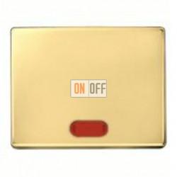 Выключатель одноклавишный с подсветкой, универс. (вкл/выкл с 2-х мест) 10 А / 250 В~ 14160002 - 3036 - 1675