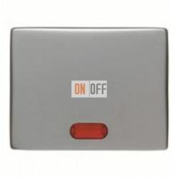 Выключатель одноклавишный с подсветкой, универс. (вкл/выкл с 2-х мест) 10 А / 250 В~ 14160004 - 3036 - 1675