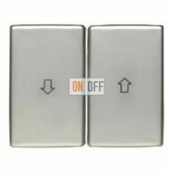 Выключатель управления жалюзи клавишный, 10 А / 250 В~ 14340104 - 303520