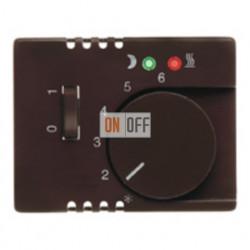 Термостат 230 В~ 10А с выносным датчиком для электрического подогрева пола механизм Eberle FRe 525 22 - 16720001