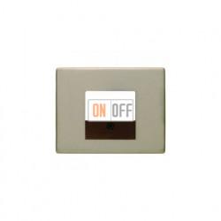 Розетка USB двойная, для зарядка, 1,4 А, вставка антрацит 260005 - 10340001