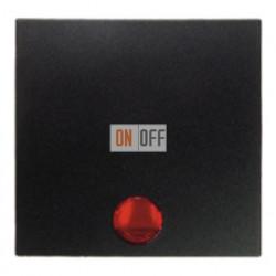 Выключатель одноклавишный с подсветкой, универс. (вкл/выкл с 2-х мест) 10 А / 250 В~ 3036 - 16211606 - 1675