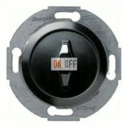 Поворотный выключатель/переключатель универсальный (вкл/выкл с одного-двух мест), материал ручки - пластик черный глянцевый 164701 - 387600